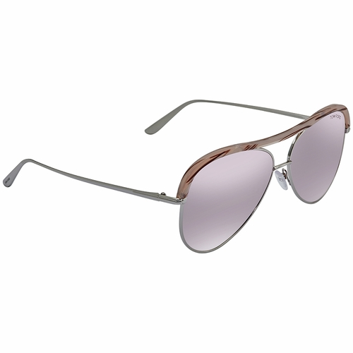 Tom Ford FT0606-16Z Sabine Ladies  Sunglasses