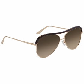 Tom Ford FT0606-28G Sabine Ladies  Sunglasses