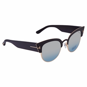 Tom Ford FT0607-05X Alexandra Ladies  Sunglasses