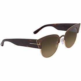Tom Ford FT0607-50K Alexandra Ladies  Sunglasses
