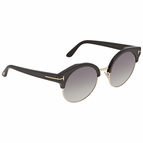 Tom Ford FT0608-01B Alissa Ladies  Sunglasses