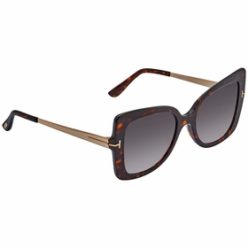 Tom Ford FT0609 52T Gianna Ladies  Sunglasses