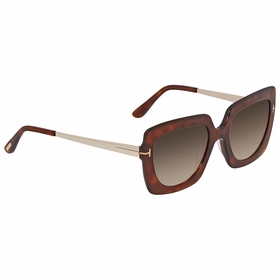 Tom Ford FT0610-53F Jasmine Ladies  Sunglasses