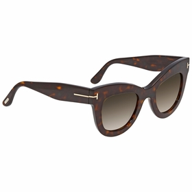 Tom Ford FT0612 52K Karina Ladies  Sunglasses