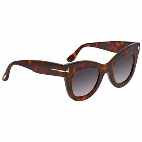 Tom Ford FT0612 53Z Karina Ladies  Sunglasses