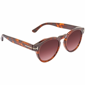 Tom Ford FT0615-55T Margaux Ladies  Sunglasses