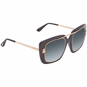 Tom Ford FT0619-01B MARISSA Ladies  Sunglasses
