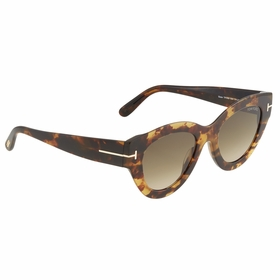 Tom Ford FT0658 55K 51  Unisex  Sunglasses
