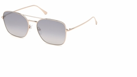 Tom Ford FT068028C57  Ladies  Sunglasses