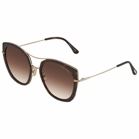 Tom Ford FT0760-F52F58 Joey Ladies  Sunglasses