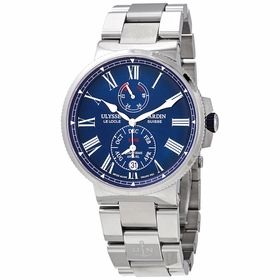 Ulysse Nardin 1133-210-7M/E3 Marine Chronometer Annual Calendar Mens Automatic Watch