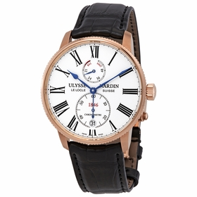 Ulysse Nardin 1182-310/40 Marine Chronometer Torpilleur Mens Automatic Watch