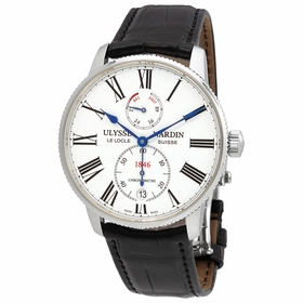 Ulysse Nardin 1183-310/40 Marine Chronometer Mens Automatic Watch