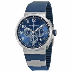 Ulysse Nardin 1503-150-3-63 Marine Chronograph Mens Chronograph Automatic Watch