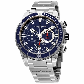 Ulysse Nardin 1503-151-7M/92 Diver Chronograph Mens Chronograph Automatic Watch