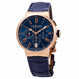 Ulysse Nardin 1532-150/43 Marine Chronograph Mens Chronograph Automatic Watch