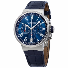 Ulysse Nardin 1533-150/43 Marine Mens Chronograph Automatic Watch
