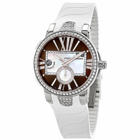 Ulysse Nardin 243-10B-3C/30-05 Executive Dual Time Ladies Automatic Watch