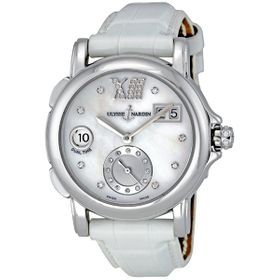 Ulysse Nardin 243-22-391 Dual Time Diamond Ladies Automatic Watch