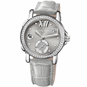 Ulysse Nardin 243-22B/30-02 Dual Time Ladies Automatic Watch