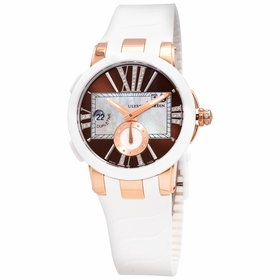 Ulysse Nardin 246-10-3-30-05 Executive Dual Time Ladies Automatic Watch