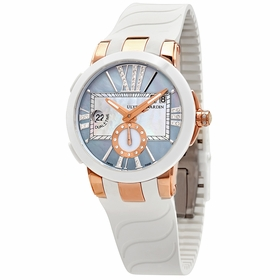 Ulysse Nardin 246-10-3-392 Executive Dual Time Ladies Automatic Watch