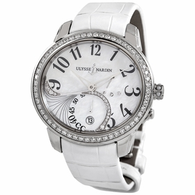 Ulysse Nardin 3103-125B/591 Jade Ladies Automatic Watch