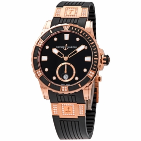 Ulysse Nardin 3202-190-3C/12.12 Diver Ladies Automatic Watch