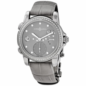 Ulysse Nardin 3243-222B/91 Classic Lady Dual Time Ladies Automatic Watch