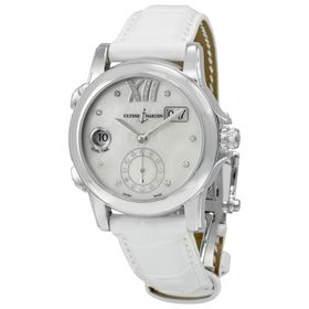 Ulysse Nardin 3343-222/391 Dual Time Ladies Automatic Watch