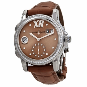 Ulysse Nardin 3343-222B/30-09 Classic Lady Dual Time Ladies Automatic Watch