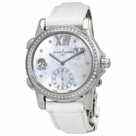 Ulysse Nardin 3343-222B/391 Dual Time Ladies Automatic Watch