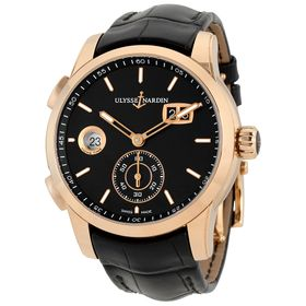 Ulysse Nardin 3346-126/92 Dual Time Mens Automatic Watch