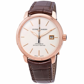 Ulysse Nardin 8152-111-2/91 Classic Classico Mens Automatic Watch