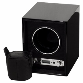 Wolf Meridian Module 2.7 Single Black Watch Winder 453870