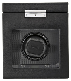 Wolf Viceroy Module 2.7 Single Watch Winder with Storage 456102