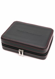 World of Watches 4 Slot Watch Travel Case WOWBOX-GJ-SWIL0401