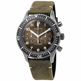 Zenith 11.2240.405/21.C773 Pilot Cronometro Tipo CP-2 Flyback Mens Chronograph Automatic Watch