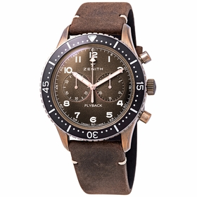 Zenith 29.2240.405/18.C801 Pilot Cronometro Tipo CP-2 Flyback Mens Chronograph Automatic Watch