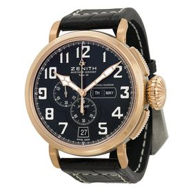 Zenith 87.2430.4054/21.C721 Pilot Mens Chronograph Automatic Watch