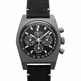 Zenith 97.T384.4061/21.C822 Chronomaster Revival Shadow Mens Chronograph Automatic Watch