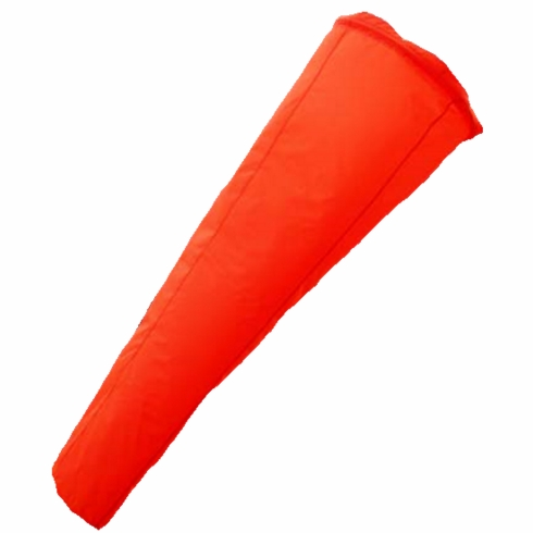 "2W International WS-1036 10"" X 36"" Orange Windsock"