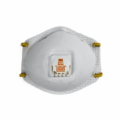 3M 8511 N95 Disposable Respirator