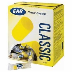3M Classic EAR 220 310-1001 Uncorded NRR 29 Value Pak Disposable Ear Plugs, 200 Pair