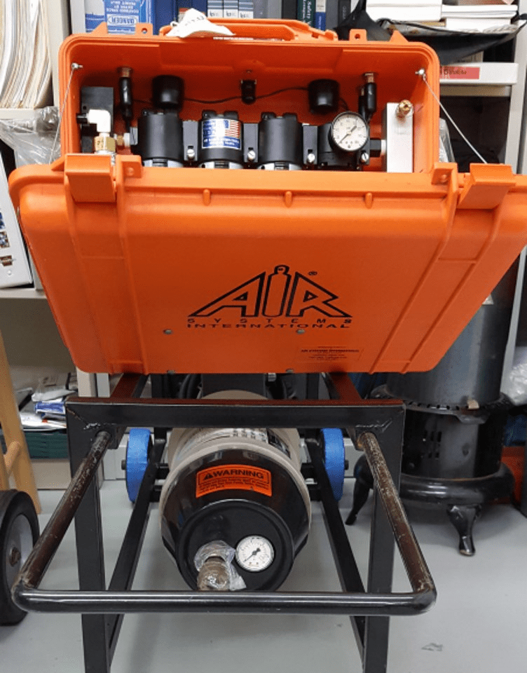 Air Systems®  HP4 Class D Air Pump And Accessories (This Item Is Sold)