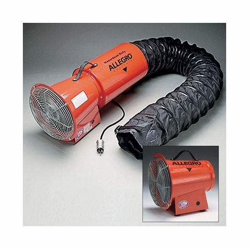 "Allegro® Industries 9514-05 8"" AC Axial Explosion Proof Blower"