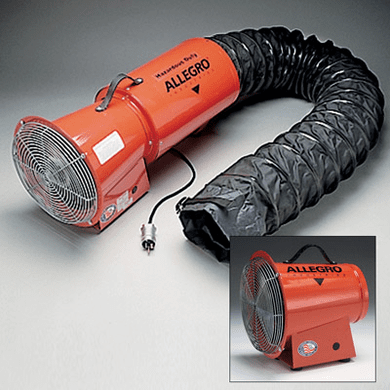 """Allegro® Industries 9514-05 8"""" AC Axial Explosion Proof Blower"""