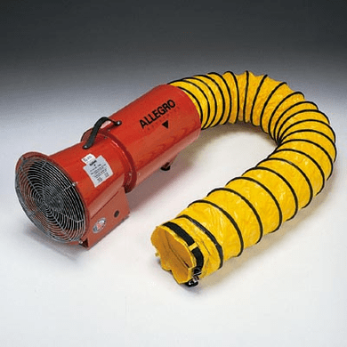 Allegro® 9533-15  8″ Axial AC Plastic Blower w/ Compact Canister & Ducting