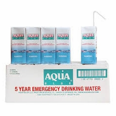 Aqua Blox Emergency Water - 32 x 6.75 oz. Containers