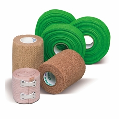 Bandage Wraps: Coflex, Blood Stopper, Ace Wraps, Cohesive, Medirip